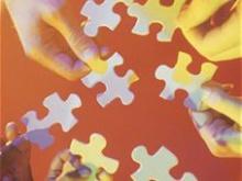 immagine di un puzzle che si compone