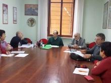 membri della commissione valutazione premi MAC in riunione
