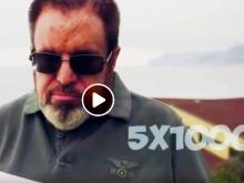In foto il video su Facebook di Federico Melloni, presidente de