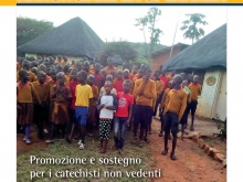 Copertina dell'appello Annunciare la speranza con un foto di bambini e ragazzi nelle missioni del sud del mondo