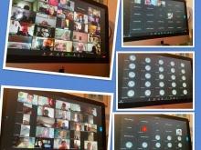 foto di schermo del pc dove si vedono collegate varie persone o con video o tramite telefono
