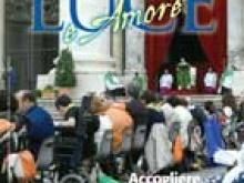 In copertina su Luce e Amore n.2  La messa celebrata dal Papa Francesco in Piazza San Pietro per il Giubileo delle persone disabili