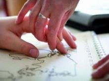 Lettura di un testo Braille